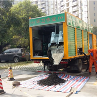 无害化清污车,一次清底绿色环保