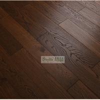 供应 橡木碳化实木复合地板