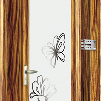 豪华别墅卧室平开门与卫生间门走向高贵品质