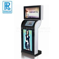 供应 荣立 三屏互动广告机 触摸查询一体机