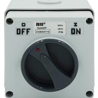 指印防水开关ZA56SW116 工业防水开关