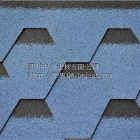 供应几何型沥青瓦多彩瓦西南最大的生产厂家