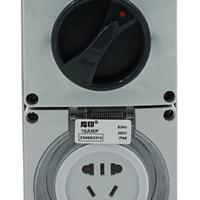 指印ZA56E201防水开关插座 工业防水插座