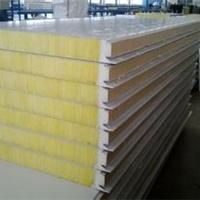 青岛冷库板 聚氨酯复合板 聚氨酯封边岩棉板