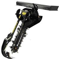 链式开沟机、宏合生产滑移装载机机具
