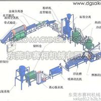 再生料加工生产线PP/PE薄膜回收生产线