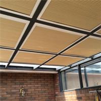 阳光房蜂巢帘天窗,免费上门测量安装。