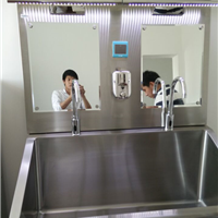 成都医用不锈钢洗手池,不锈钢污洗池
