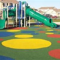 足球场篮球场学校PVC地板人造草坪亿奇橡胶