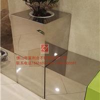 不锈钢花瓶 锥形不锈钢花盆 酒店不锈钢花盆