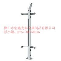 供应不锈钢玻璃栏杆价格,不锈钢立柱厂家