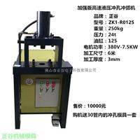 供应不锈钢高速液压ZK1-R0125冲孔机