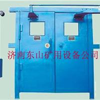 红外线煤矿自动风门,光控矿用双向无压风门