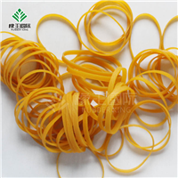 耐高温黄色O型橡皮筋捆扎专用环保橡胶圈