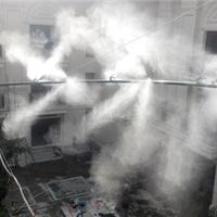绿植喷雾浇灌系统_细水雾化喷雾灌溉设备