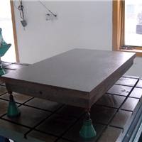 供应铸铁平板 铸铁平板价格/防锈工作