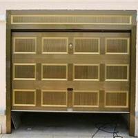 浩天高质量双层铝合金卷帘门车库门定做维修