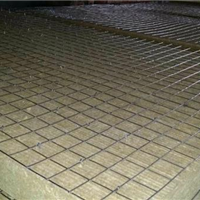 供应钢网插丝岩棉板