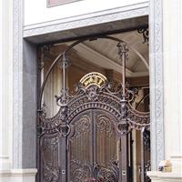 别墅艺术铜门
