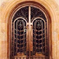 厂家供应艺术铜门