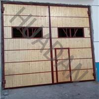 供应木质钢木大门|化工厂钢木大门厂家