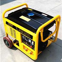 小型汽油190A发电电焊机