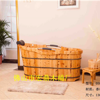 供应齿接香柏木沐浴桶058橡木沐浴桶,足浴桶