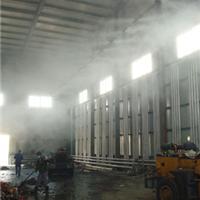 工厂喷雾加湿喷雾机东荣批发价喷雾除尘设备