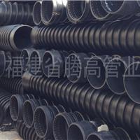 HDPE高密度聚乙烯缠绕结构壁增强管 克拉管