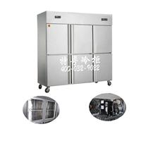上海食堂厨房冷柜/不锈钢工作台冷柜厂家