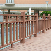 陕西西安木塑栅栏厂家,木塑围栏,木塑护栏