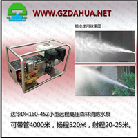 供应达华DH160-45Z高压森林消防水泵