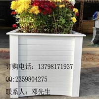 塑木花箱,实木花箱制作,户外花箱种树花池