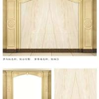 佛山加里艺术背景墙 通体石材罗马柱