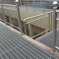 供应水沟盖板,热镀锌格栅板,市政栏杆