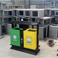 河北优质钢板喷塑垃圾桶图片批发供应