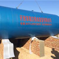 河北冀州20吨无塔供水设备安装现场