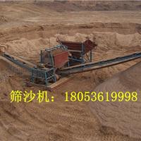 供应江西南昌沙场专用两分离80型筛沙机