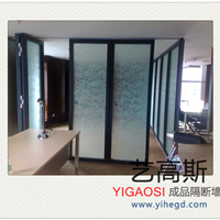 广州办公室移动隔断、玻璃隔断