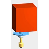 供应FHZC系列重锤式料位计,重锤物位计