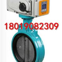 供应D971X-16带液晶控制面板电动对夹蝶阀