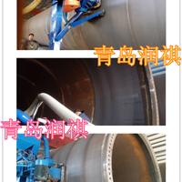 供应塔筒抛丸机*钢管外壁抛丸清理机