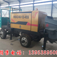吉林新农村建房利器 搅拌拖泵一体机
