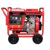 柴油的250安发电电焊机