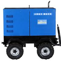 四缸带拖车400A发电电焊一体机