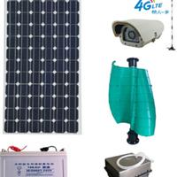 太阳能-风能一体化监控摄像机