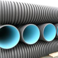 重庆厂家生产波纹管打孔管HDPE排污管