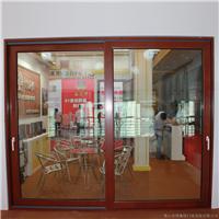 供应158铝木重型推拉门博森特铝木复合门窗