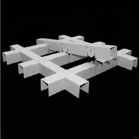 供应铝格栅,造型铝格栅,木纹铝格栅生产