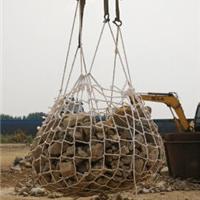 供应尼龙绳吊装网兜,填海吊网,填海网兜,